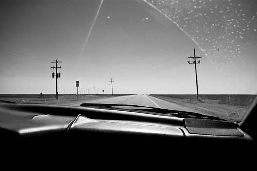Driving Through Texas by Ilker Goksen