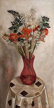 Dry flowers by Vladimir Kezerashvili