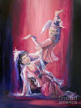 Dual dance by Aung Min Min