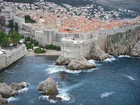 Dubrovnik City Walls by Ivana Smiljanec