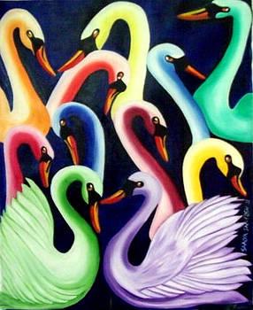 Ducks by Nirendra Sawan