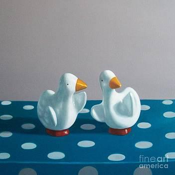 Ducks on Dots by Maureen OConnor