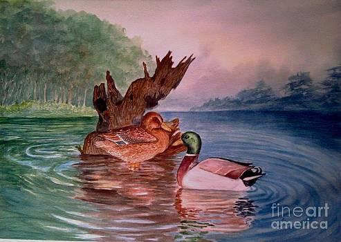 Ducks by Shashikanta Parida