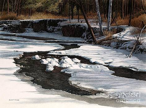 Duffins Creek II by Robert Hinves