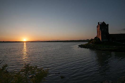 Earl Bowser - Dungaire Castle Sunset