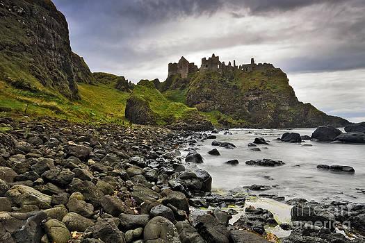 Dunluce Castle by Derek Smyth