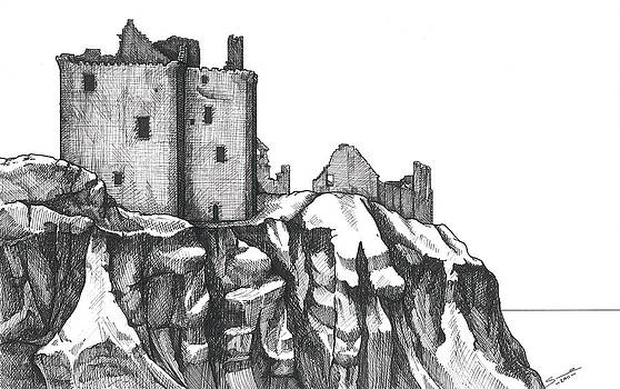Dunottar castle  by Sue Pownall