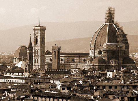 Donna Corless - Duomo With Scaffolding