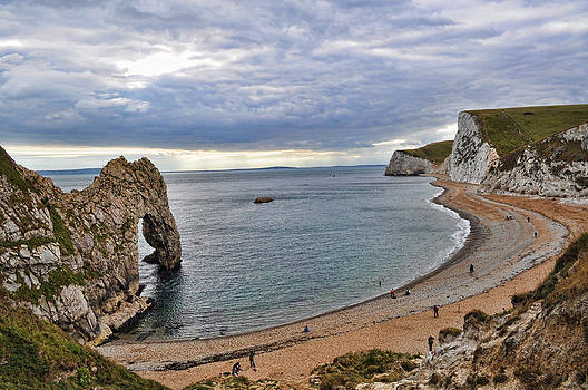 Durdle Door at Lulworth Cove by Andrea Everhard