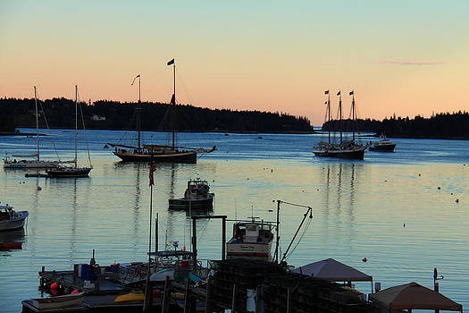 Dusk at Burnt Coat Harbor by Doug Mills