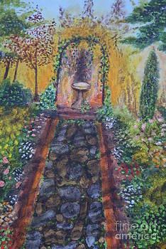 Dusk Garden by William Ohanlan