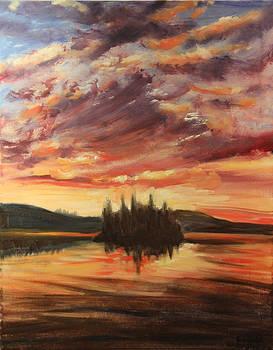 Dusk by Linda Woolven