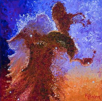 Eagle Rising by Karen Balon