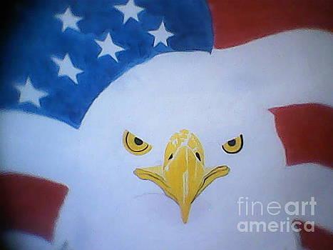 Eagle WIP by Cherryl Fernandez