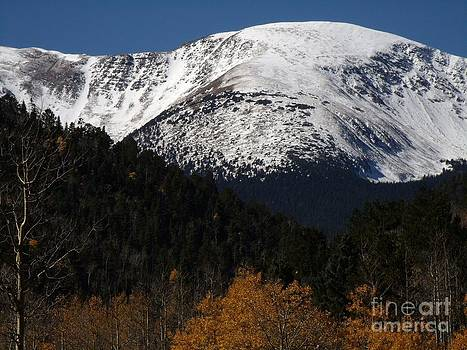 Early Autumn Snowfall in the High Country by Donna Parlow