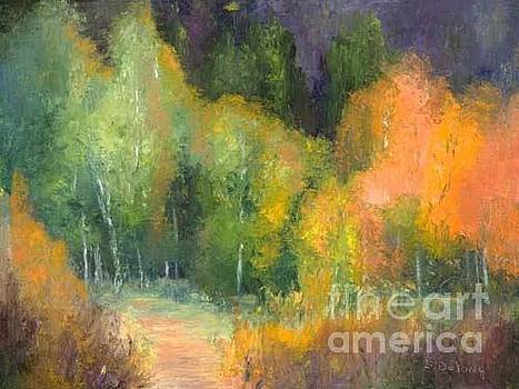 Early Color Hope Valley by Sandra Delong