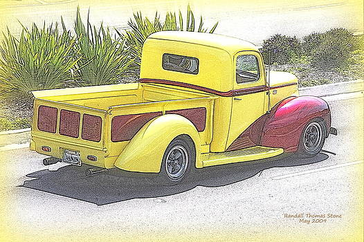 Randall Thomas Stone - Early Ford in Yellow