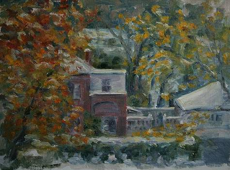 Early Snow Hartford by Edward White