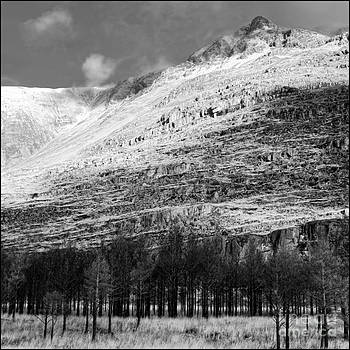 Early Snow on Leatach Glen Torridon Infrared by George Hodlin