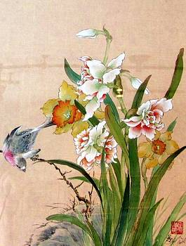 Early Spring Flowers by Hsiu  Norcott