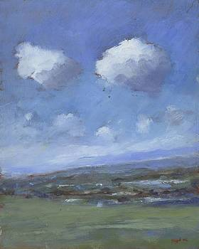 Early Summer near Brading Down by Alan Daysh