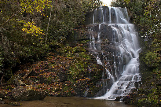 Eastatoe Falls by Rick Hartigan