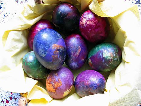Easter eggs 01 by Ausra Huntington nee Paulauskaite