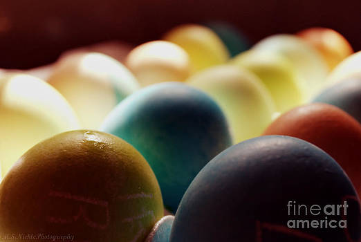 Easter Eggs by Melissa Nickle