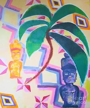 Easter Island by Karen Francis
