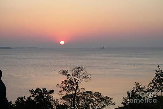 Easter Sunrise in Yorktown by Marilyn West