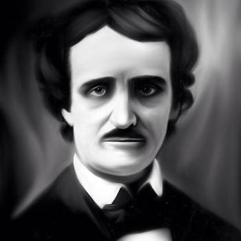 Edgar Allen Poe Recreation Made On by Joshua Pearson