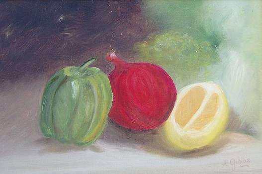 Edible Vegetables by Arlene Gibbs