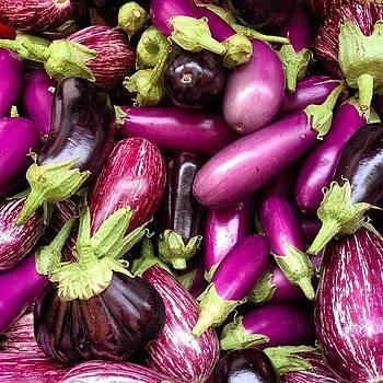 #eggplant #market #washington by Shari Malin