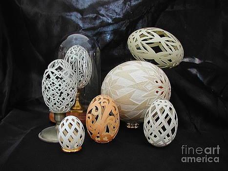 Eggshells 1 by Christina A Pacillo