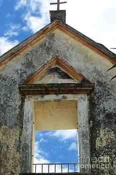 Eglise - Ile De La Reunion by Francoise Leandre