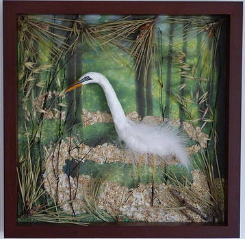 Egret's World  by Lila Strong