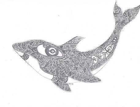Ehkoli 'Whale' by Kali Kardsbykali