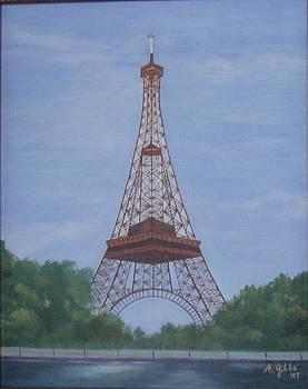 Eifel Tower by Arlene Gibbs