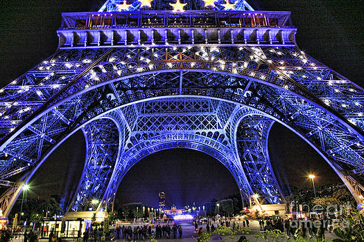 Chuck Kuhn - Eiffel Tower Under