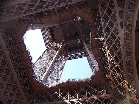 Eiffel Towers C by Maggie Cruser