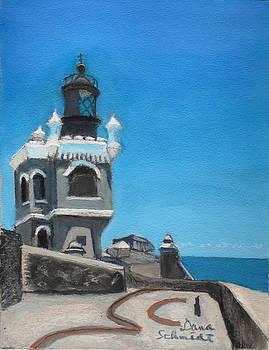 El Morro Fort in Old San Juan Puerto Rico by Dana Schmidt