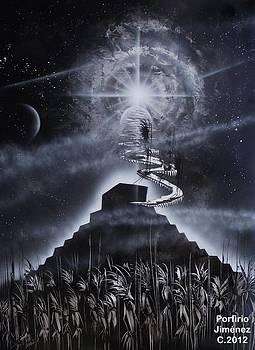 El regreso de los dioses by Porfirio Jimenez