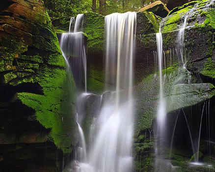 Elakala Falls Cascade by Matt Russell