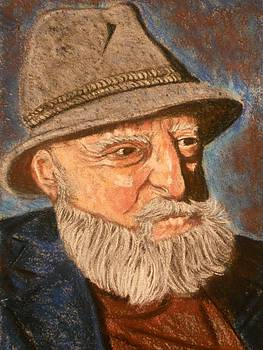 Elderly Gentleman by Jennie McNeely