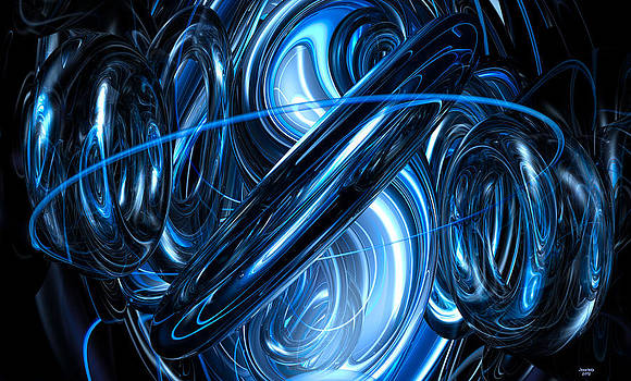 Electric Blue by Renee Fereira