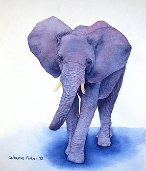 Elephant II by Sharon Farber