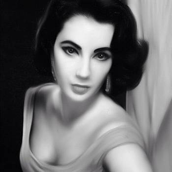 Elizabeth Taylor Recreation Made On by Joshua Pearson
