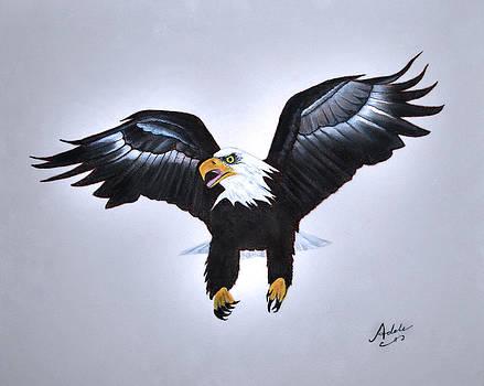 Elliott the Eagle by Adele Moscaritolo