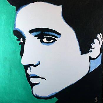 Elvis Presley - Blue Green by Bob Baker