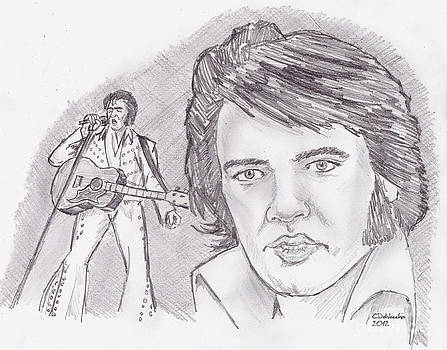Chris  DelVecchio - Elvis Presley- older